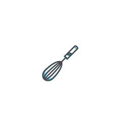 Whisk icon design gastronomy icon vector