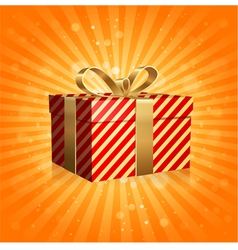 The Gift Box vector image