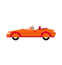 A sports car vector