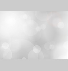 Abstract silver shine blured background vector