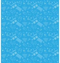 Bashower boy pattern set vector