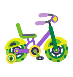 children s bicycles children s transport vector image