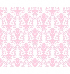 floral wallpaper background vector image