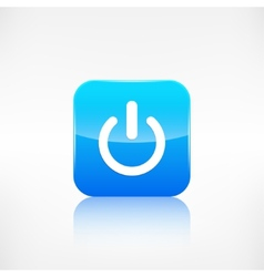 OnOff switch icon Application button vector image