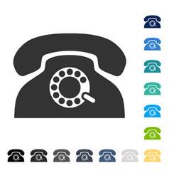 Pulse phone icon vector