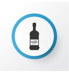 scotch icon symbol premium quality isolated vector image