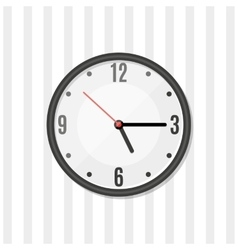 Simple wall clock vector image