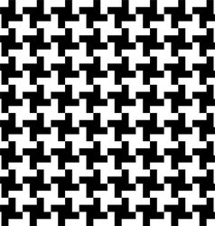 Houndstooth pattern vector image vector image