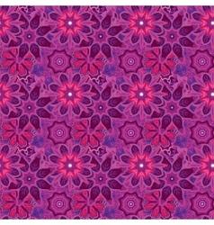 Seamless hand drawn mandala pattern Vintage vector image