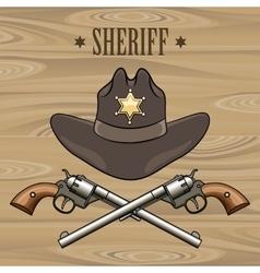 Sheriff Emblem vector image