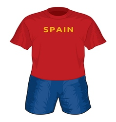 Spain dres resize vector image vector image