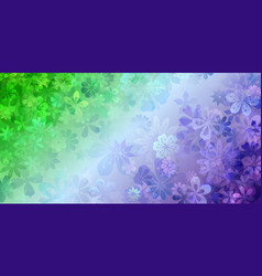 Background flowers vector