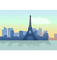 City Paris vector image