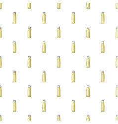 Cosmetic tube for cream pattern vector