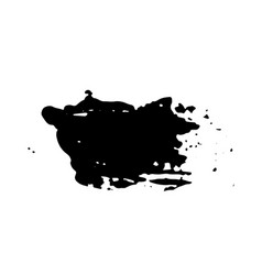 ink dry brush stroke vector image