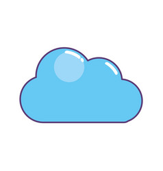 Nice cloud design vector
