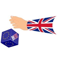 referendum concept BREXIT vector image