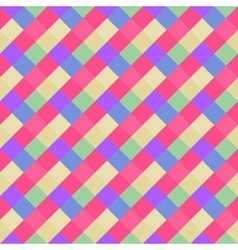 Seamless geometric pattern Diagonal square vector