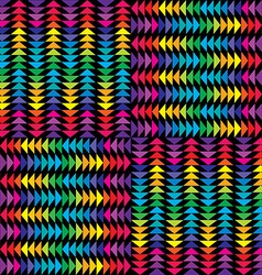 Triangles background vector