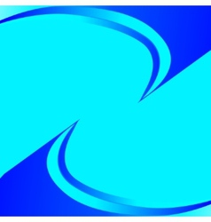 Abstract blue light background vector image