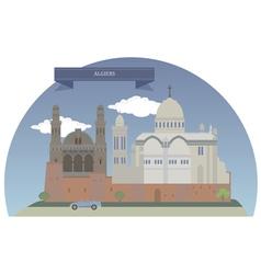 Algiers vector image