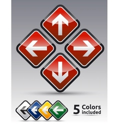 Arrow Directions icon vector image