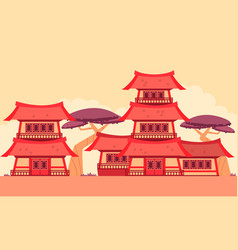 China old town vector