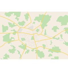 City map aug vector