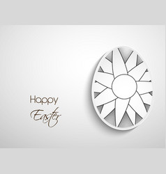 Elements of easter background vector