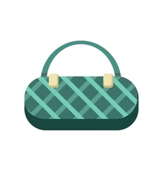 GreenLadies Handbag vector image