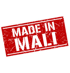 Made in mali stamp vector