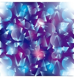 Polygonal background Wallpaper design vector image