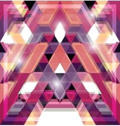 Triangular space design vector image