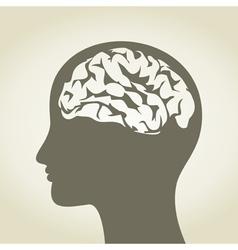 Brain5 vector image vector image