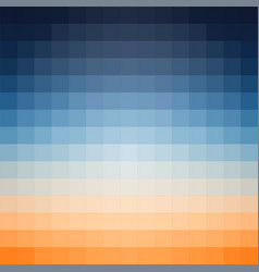 gradient background in shades of orange and vector image vector image