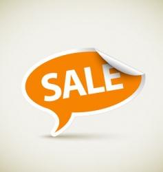 retail sale sticker vector image vector image