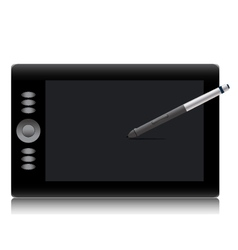 Intuos pen mouse tool drawing technology equipment vector image vector image