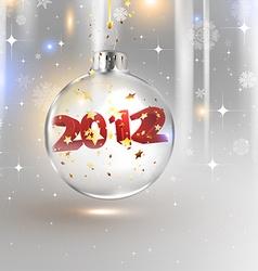 2012 Christmas Bauble vector
