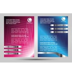 Brochure set vector
