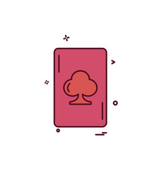 card icon design vector image