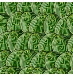 egg line pattern vector image