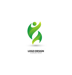 People communication community and teamwork logo vector