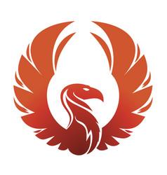 Phoenix emblem vector