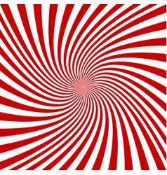 red and white spiral background vector image