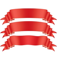 Red tape vector