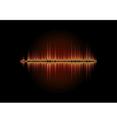 Sharp fire waveform vector