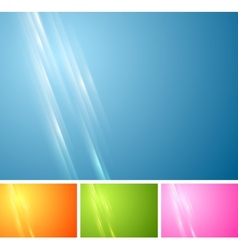 Tech vibrant abstract background vector image