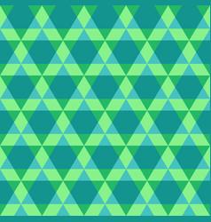 Triangular geometric seamless pattern vector