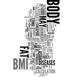 Your bmi body mass index may not be accurate if vector