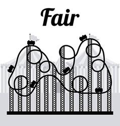 Fair design vector image vector image